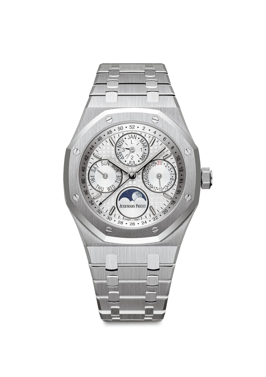 Audemars Piguet 41mm stainless steel Royal Oak Perpetual Calendar