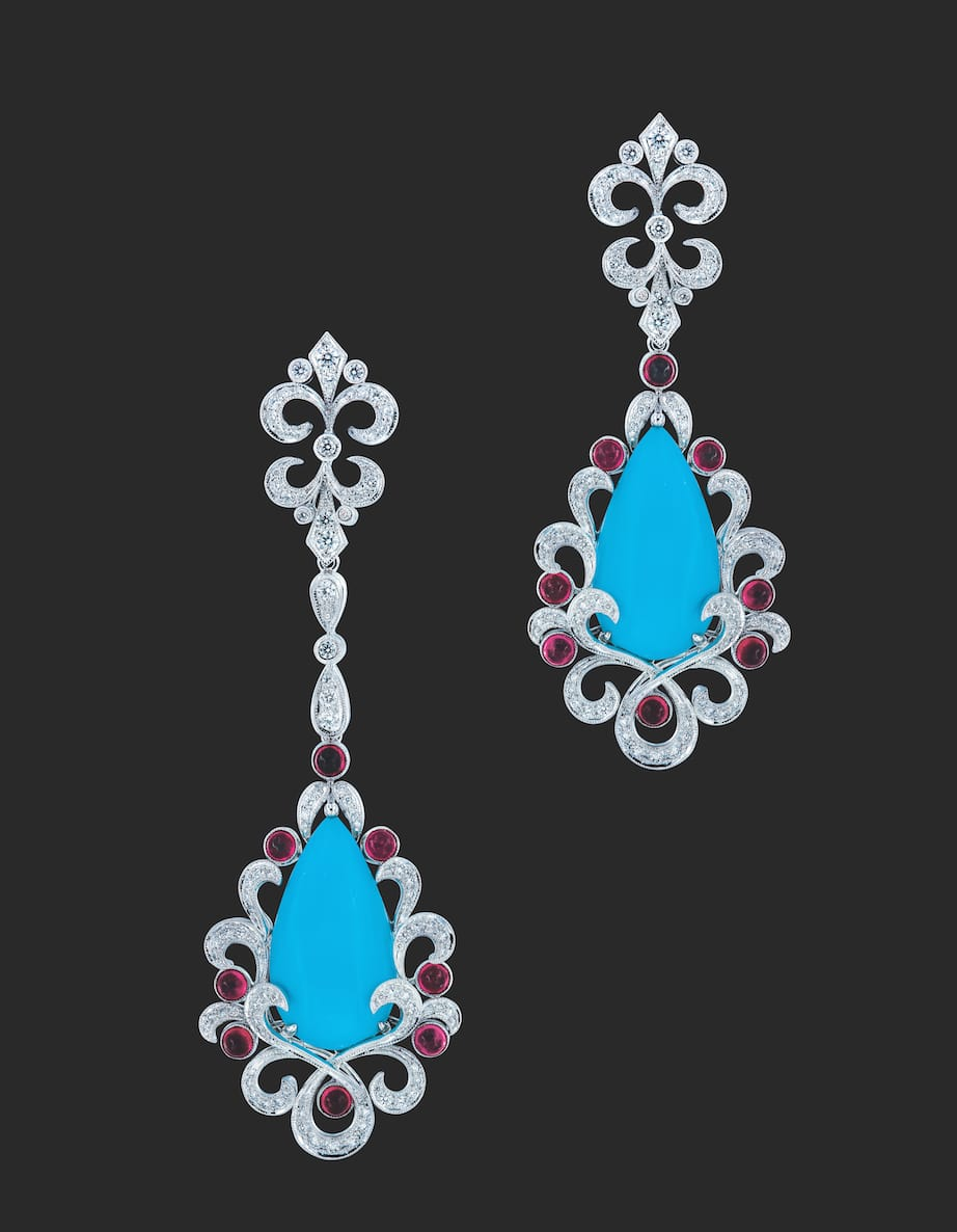 Caratell-turquoise-earring