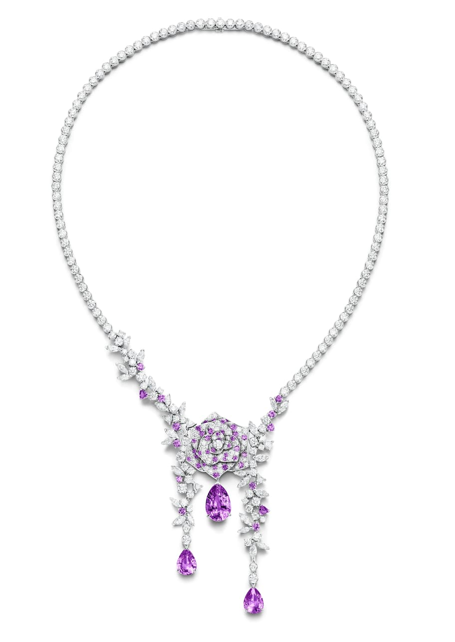 Piaget-Amethyst-and-diamond-necklace