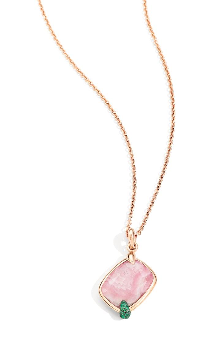 Pomellato-Ritratto-pendant-Pink-Hawaiian-Peony