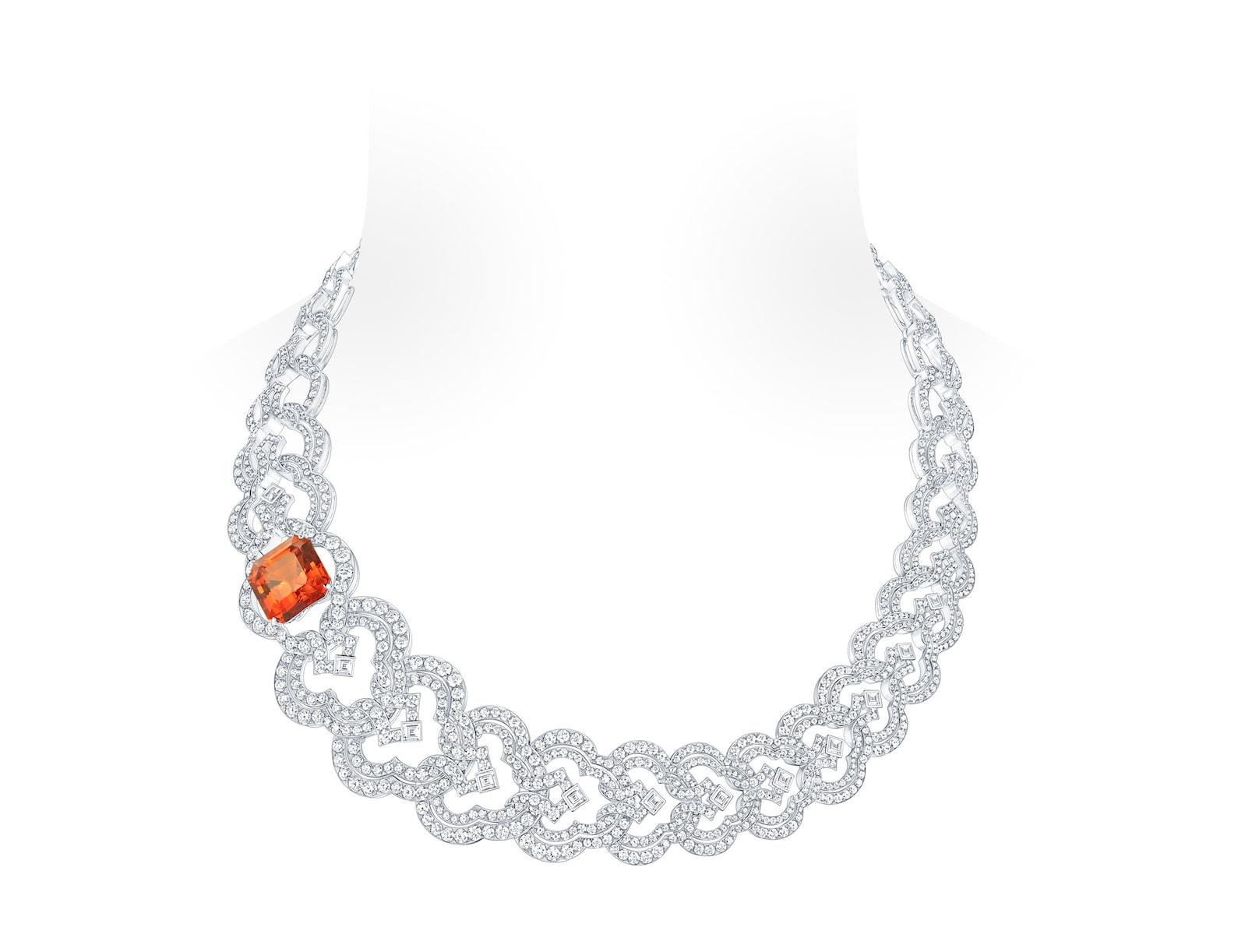 LV-Conquêtes-Garnet-diamond-necklace