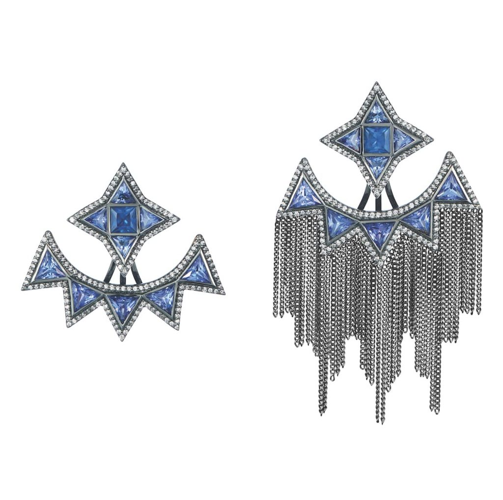 Leyla-Abdollahi-Tanzanite-earrings