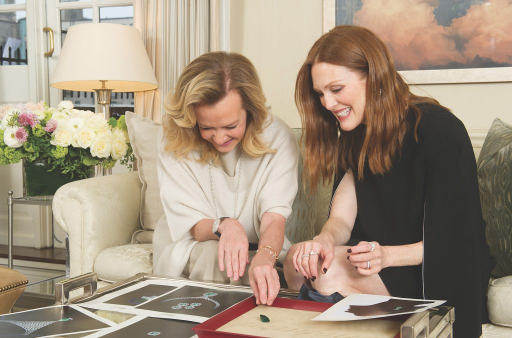 Caroline-Scheufele-and-Julianne-Moore