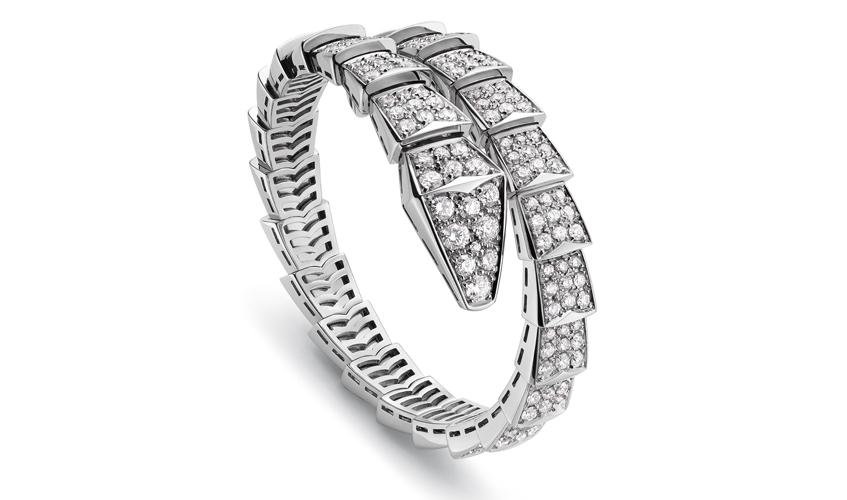 Serpenti diamond bracelet, worn by Amy Adams at the 73rd Venice Film Festival, BULGARI
