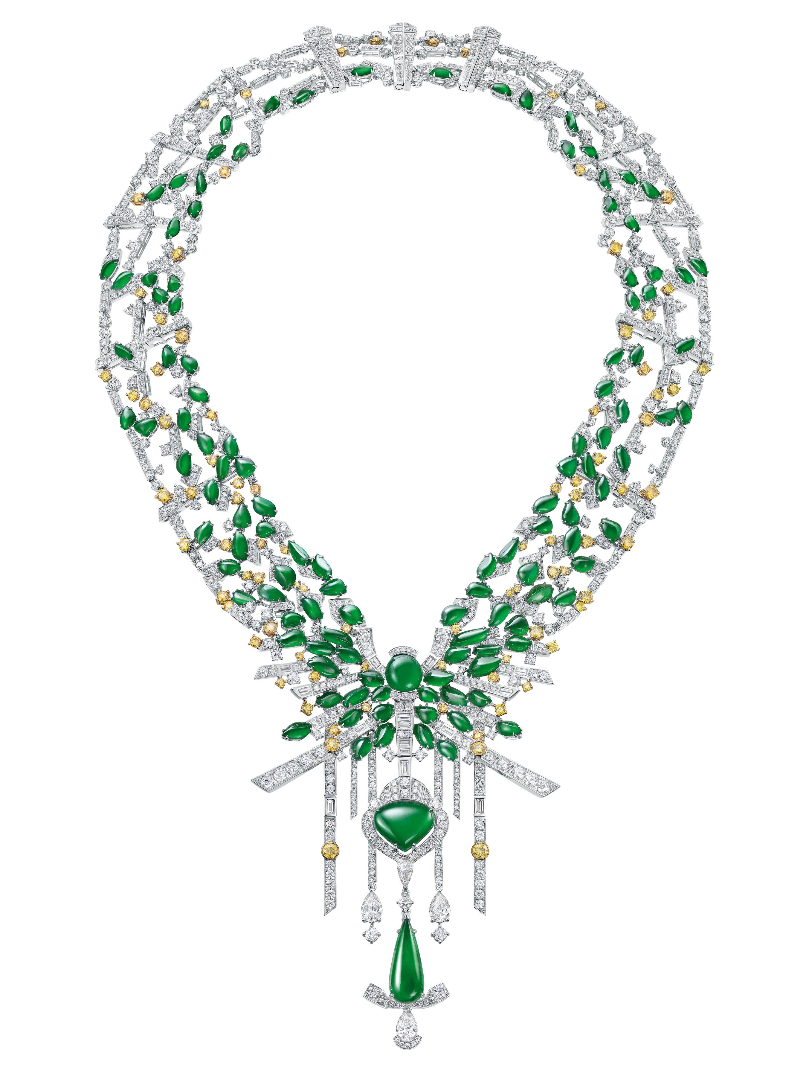 JADE La Poésie de Jade necklace from Chow tai Fook