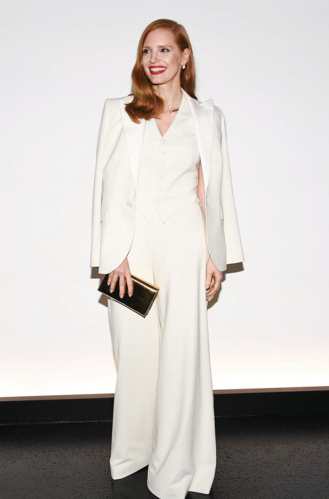 Jessica-Chastain-was-shining-in-Piaget-at-the-Ralph-Lauren-catwalk-last-week-in-New-York