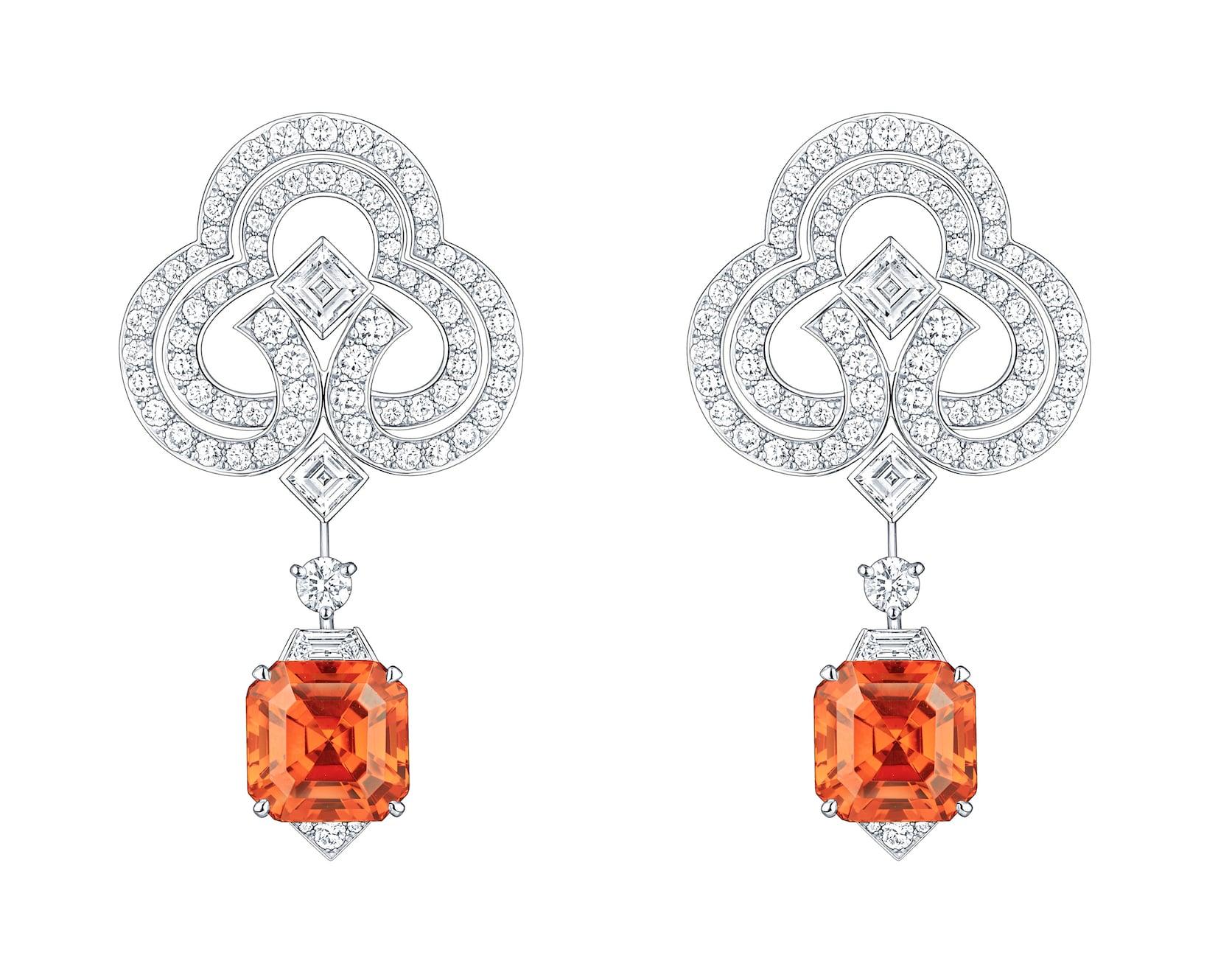LV-Conquêtes-Garnet-diamond-earring