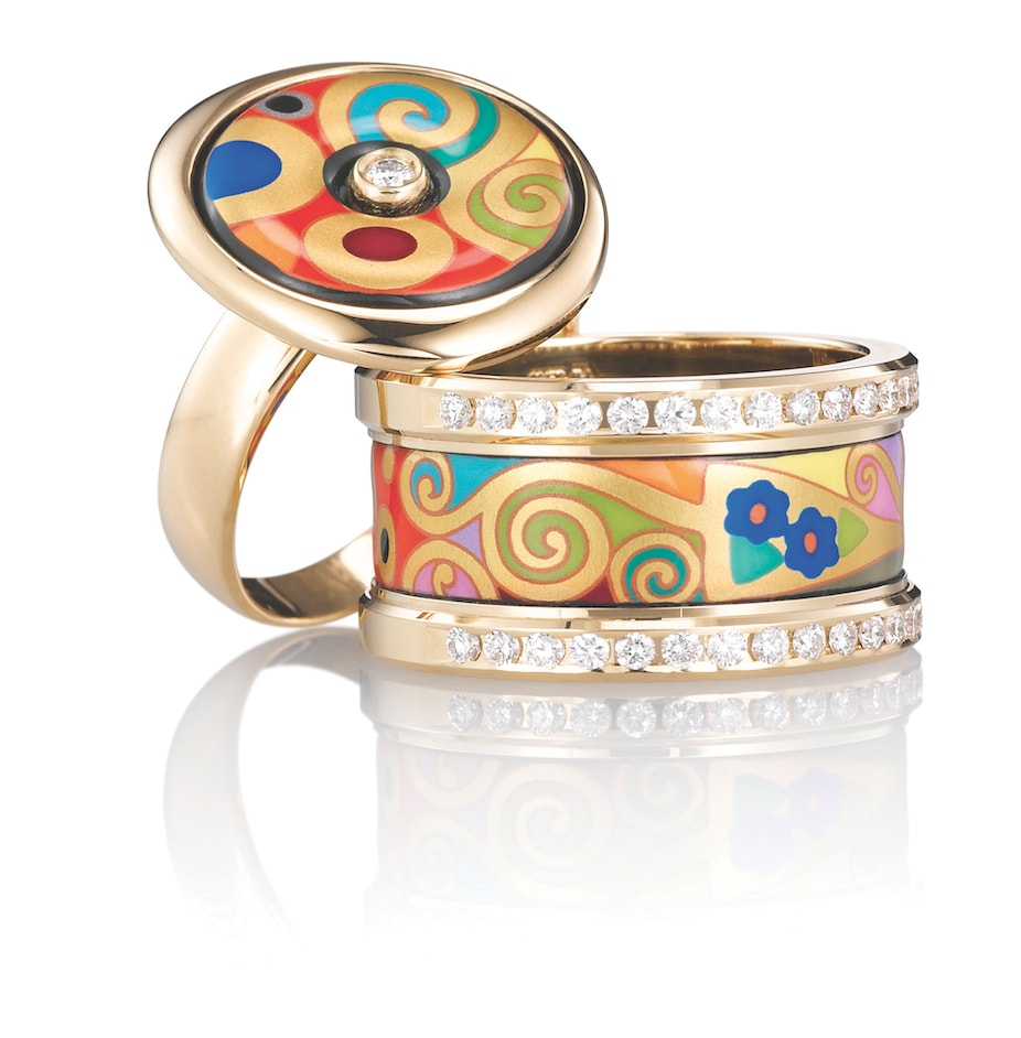 Rings-from-Frey-Wille-Gustav-Klint-collection