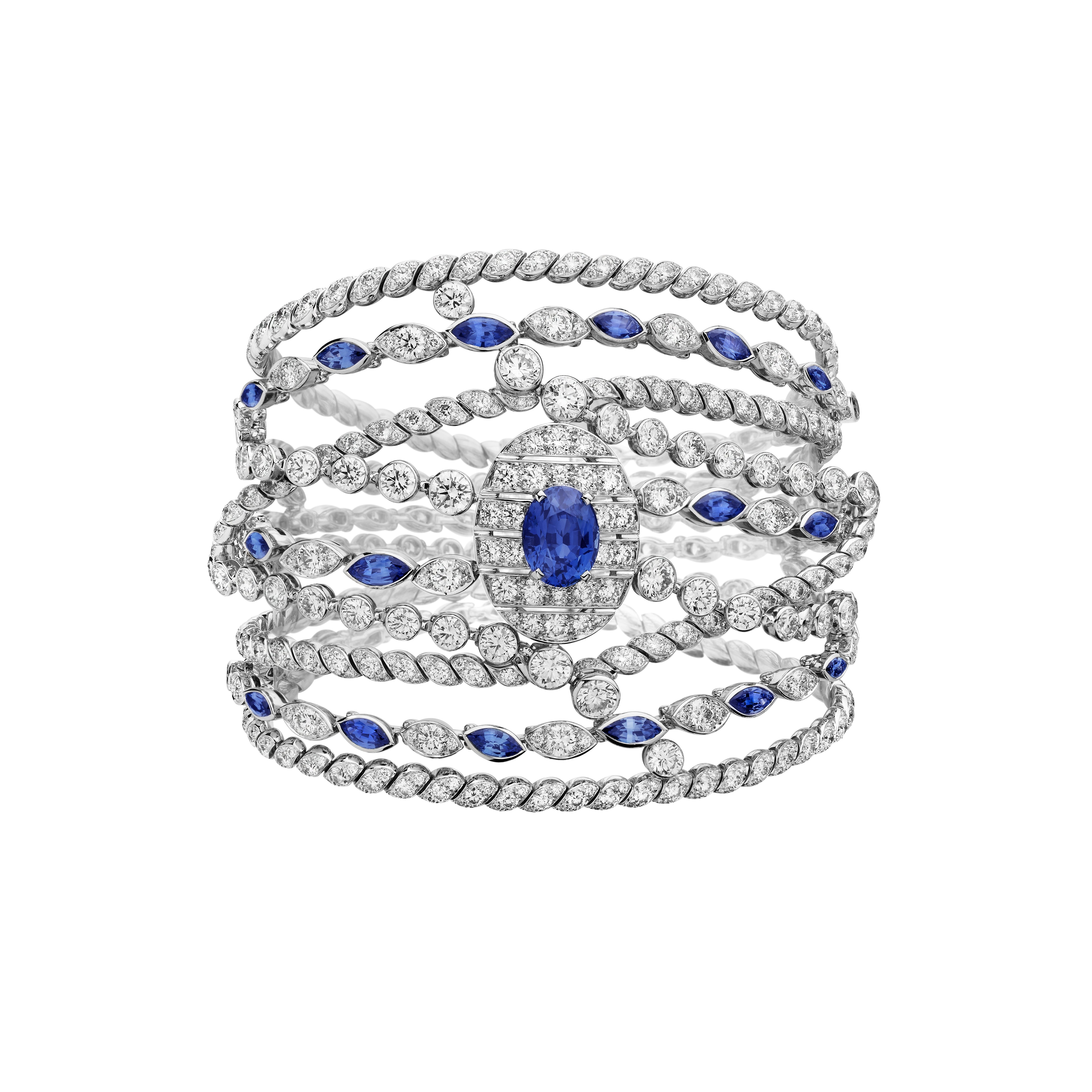 SAPPHIRE-Chanels-Sapphire-Stripes-barceket-from-Flying-Cloud-collection