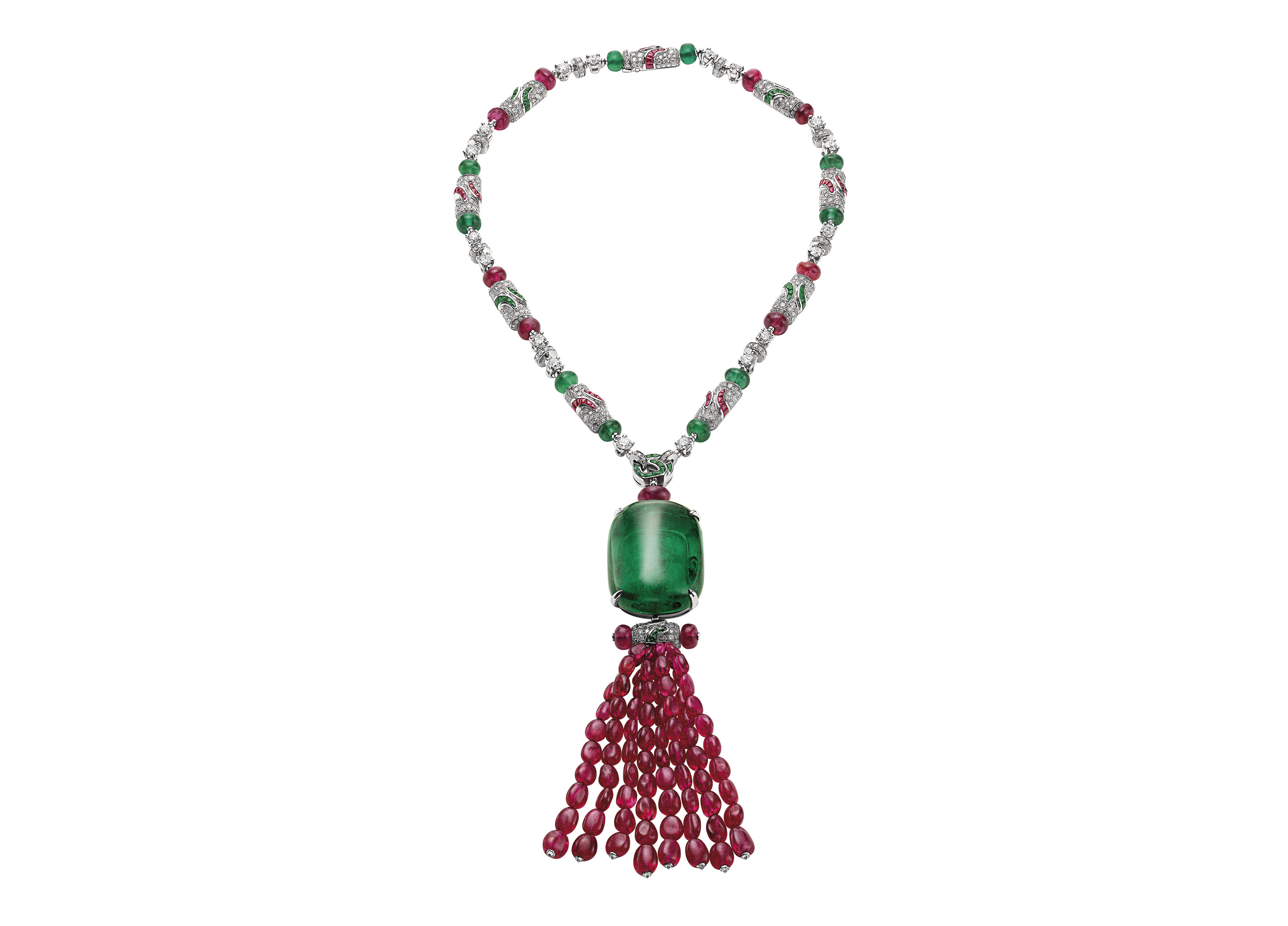 SPINEL-Bulgari-necklace-with-spinels-and-emeralds