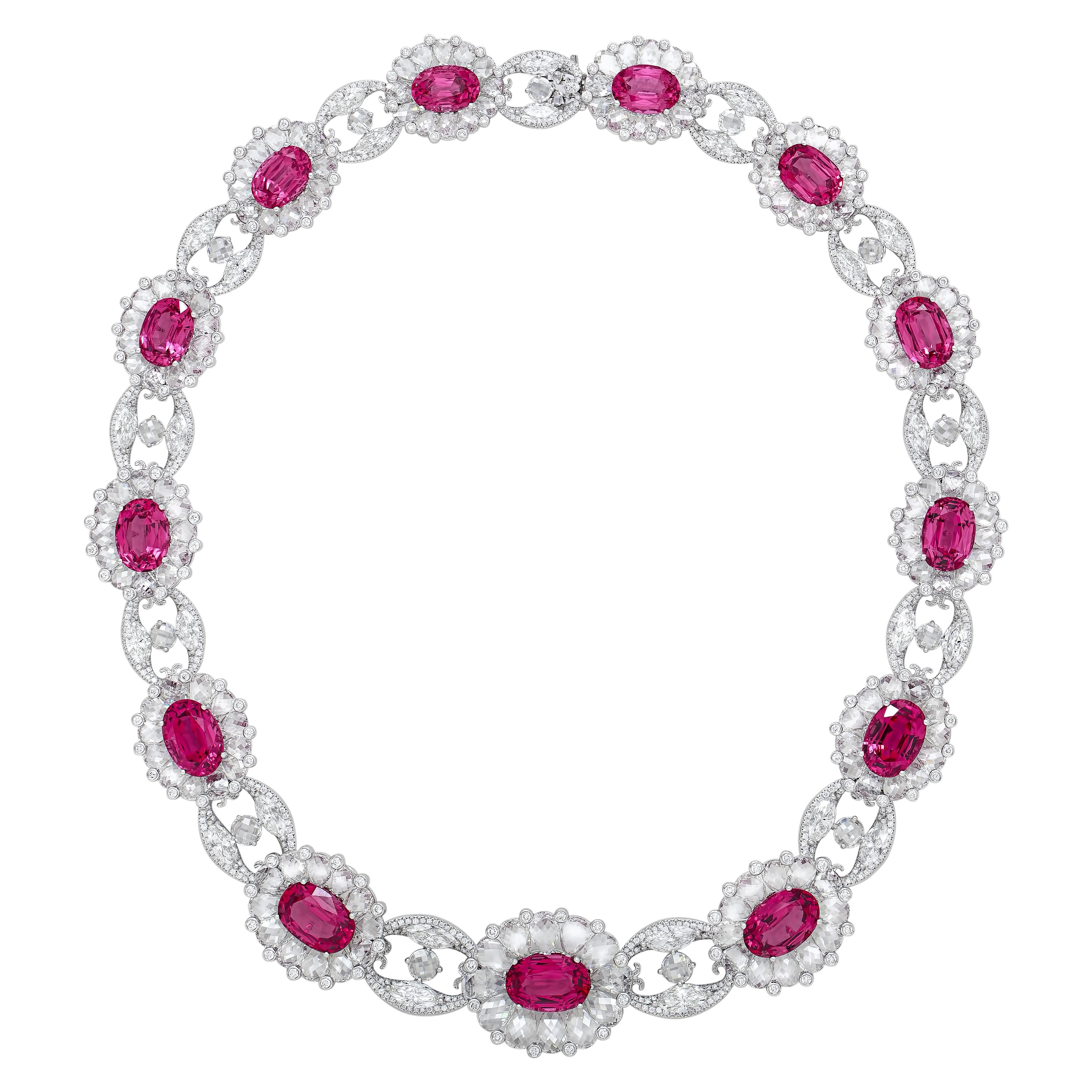 SPINEL-Spinel-Bloom-Necklace-by-Nirav-Modi